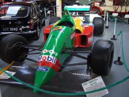 BENETTON F1 CAR 87 by Sceptre63