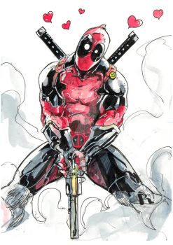 Deadpool by polacostyle