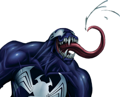 Venom render by Stealth14