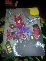 Spider-Ham colored by strayspoon42