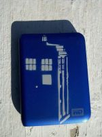 Tardis Hard Drive by pfruitloop
