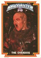 Spacehunter the Overdog Trading Card Hartter by Hartter