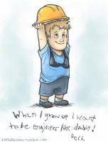 Little hardhat by Lintufriikki