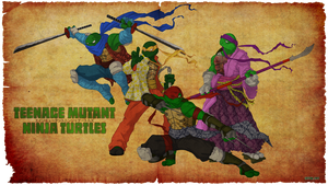 Teenage Mutant Ninja Turtles by paulthegreat103