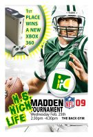 Madden Tourny Flier by beefcoat