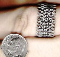 Micro Maille Ring by Prilandryn