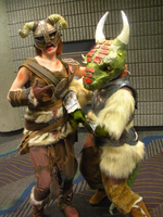 MTAC Omega - Argonian Cosplay by Chocolate-Shinigami