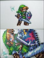 Link and Faerie by 8bitcraft