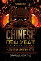 Chinese New Year Flyer by Dilanr