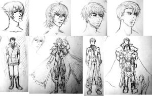 BtS 3-Year Jump Character Concepts by RoyLover