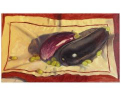Bernhard Graf Still-life eggplant by theartdepartment