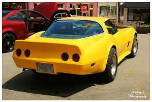 Tommy's Sharp Yellow Corvette by TheMan268