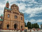 The Cathedral to Speyer I by pingallery