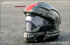 Custom DUTCH Halo ODST Helmet Replica by JohnsonArms