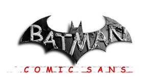 Batman: Comic Sans by TheDoLittle