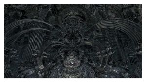 Giger's Dream Machine by eccoarts