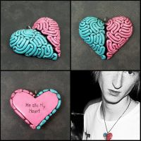 I Heart Brains Custom by beatblack