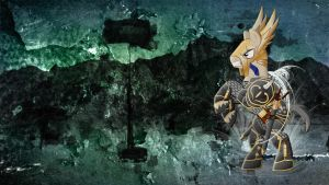 Wallpaper MLD Pony Barbarian by Barrfind