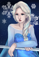 The Cold Never Bothered Me Anyway by IceValaxy