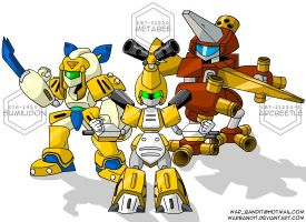 Medabots - Team Japan by WarBandit