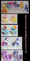 Show-accurate Blindbag Set: Mane Six by Gryphyn-Bloodheart