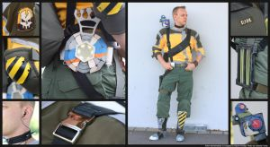 Axton - Borderlands 2 Cosplay Details by Ruun