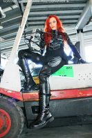 G.I. Joe - Scarlett cosplay 26 by ShadeNinja