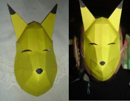 Legend of Zelda's Keaton Mask by ryo007
