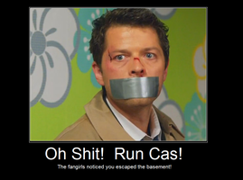Run Castiel by Shinju90