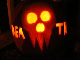 Death The Pumpkin by Lappalla