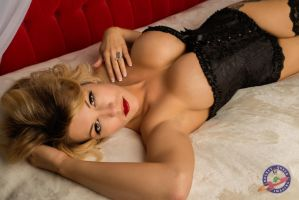 Amy in Black - 1 by RocketQueenImaging