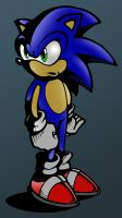 Quick Dark Sonic by TheStiv