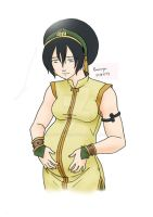 Toph_Heartbeat by eviechan68