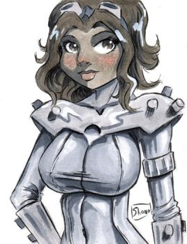 Sketch Card: Gear by Shono
