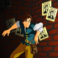 Flynn Rider by Everlaststar