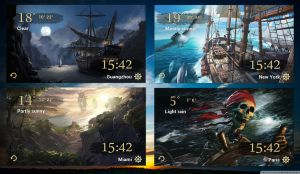 Pirates Voyage Widget HD for xwidget by jimking
