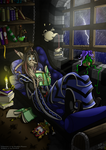 A cozy evening by Retromissile