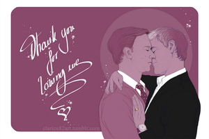 Mystrade  - Thank you by RedPassion