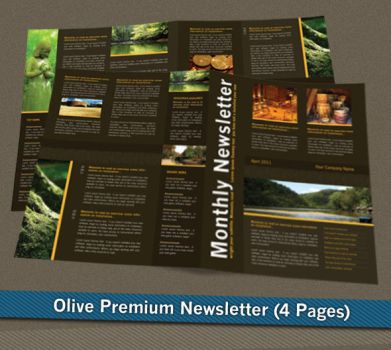 Olive Premium Newsletter by femographi