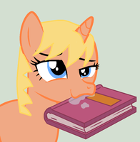 Silver Loves Her Books by That1MegaLeaFan