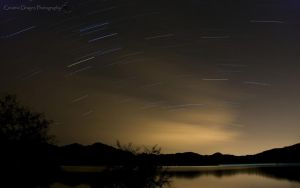 Bartlett Lake Startrails by Creative--Dragon