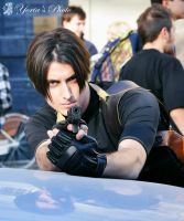 Leon Kennedy cosplayer by PrincessRiN0a