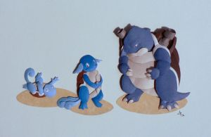 Kanto Water Stater Final by Menitti