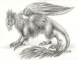 Griffin-sketch by Spyrre