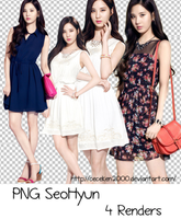 PACK PNG #34: Seohyun by CeCeKen2000