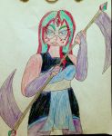 Alexandrite's Weapon by Silver-Song-Shifter
