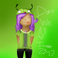 Don't we all love Invader Zim by LilithTheSceneWhore