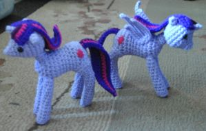 Twilight Sparkle Inspired Pony and Princess by ChibiSayuriEtsy