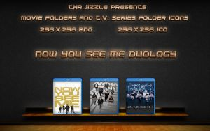 Now You See Me Duology Movie Folder Icons by ThaJizzle