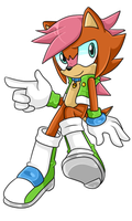 Amy X Sally Fan Child .:Male:. by VeggieMadness